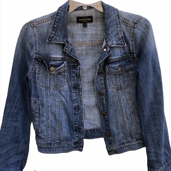 J. Crew Indigo Denim Jean Jacket Size Medium